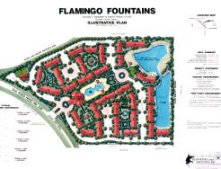 Flamingo Fountains, Orlando, USA